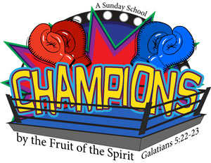 Logo Champions Sunday School English