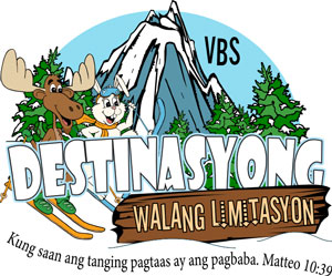 Logo Destination without Limits VBS Filipino