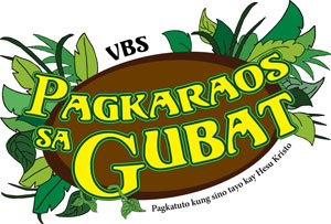 Logo Surviving the Jungle VBS Filipino