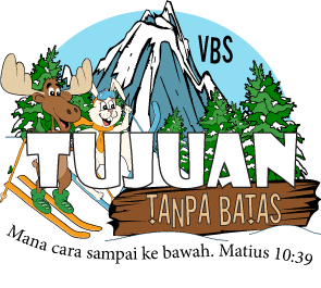 Logo Destination without Limits VBS Indonesian