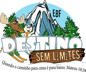 Logo Destination without Limits VBS Portuguese