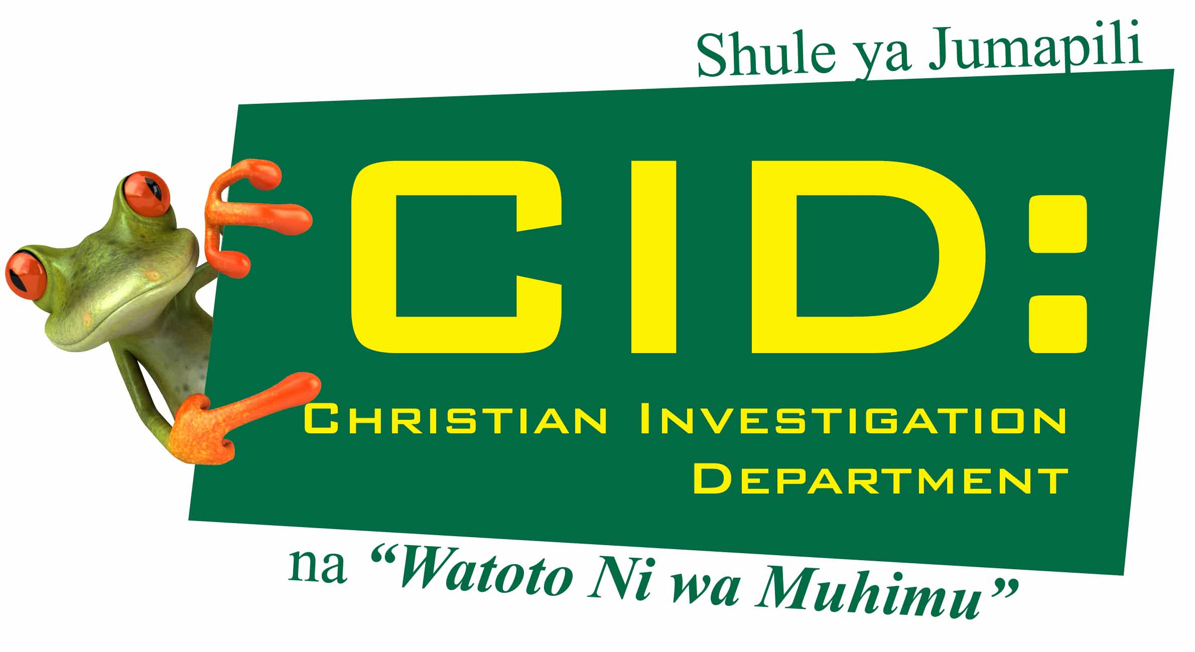 Logo CID Sunday School Swahili