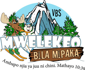 Logo Destination without Limits VBS Swahili